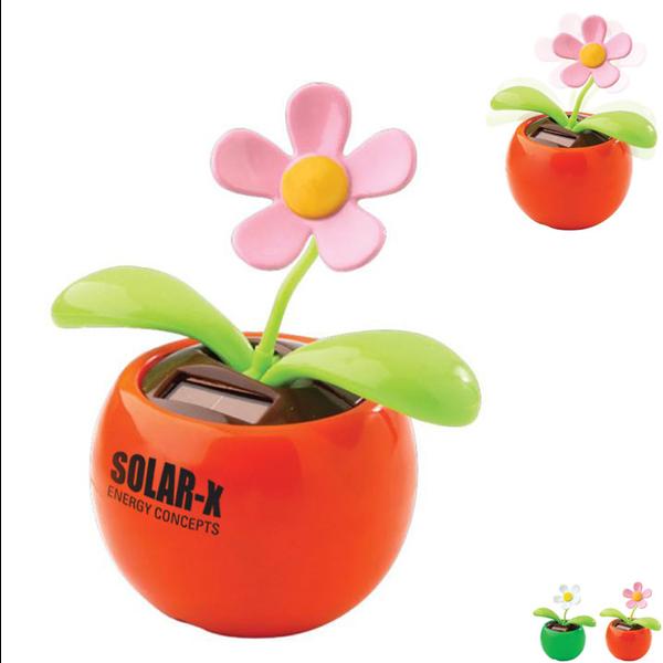Dancing Flower Solar-Powered Desk Toy