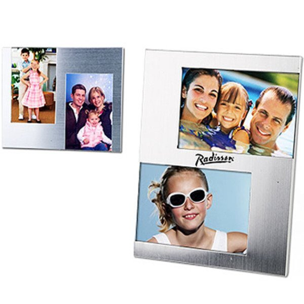 Two-Photo Metal Photo Frame