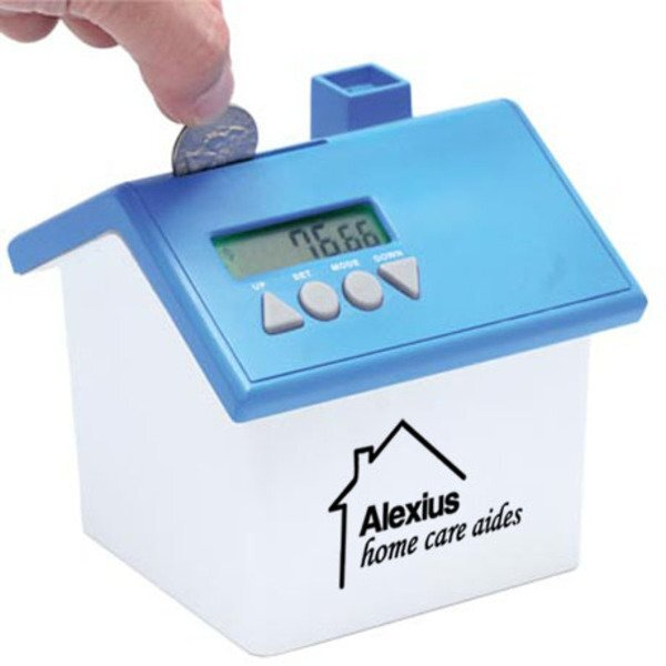 Talking House-Shaped Coin Bank