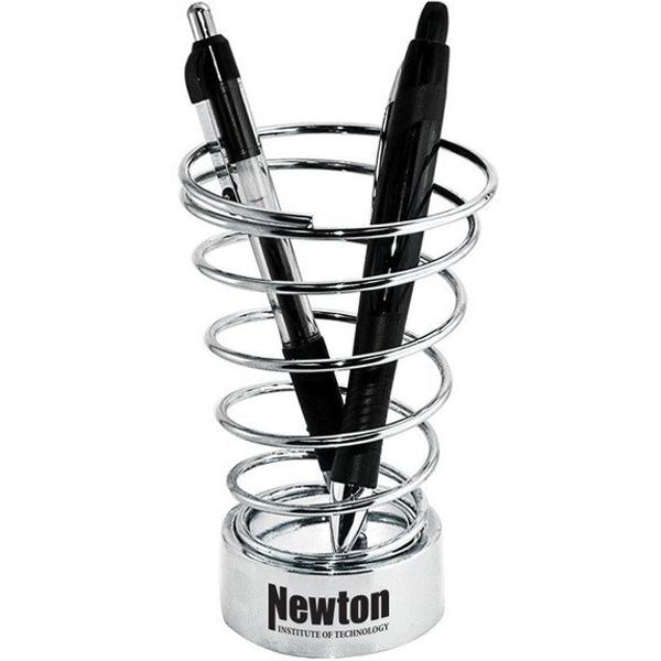 Metal Spiral Pen Holder