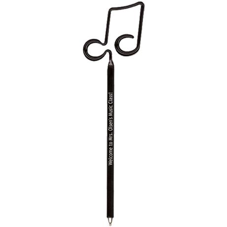 Double Music Note InkBend Standard™ Pen