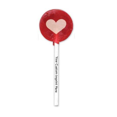 Heart Design, Custom Lollipop