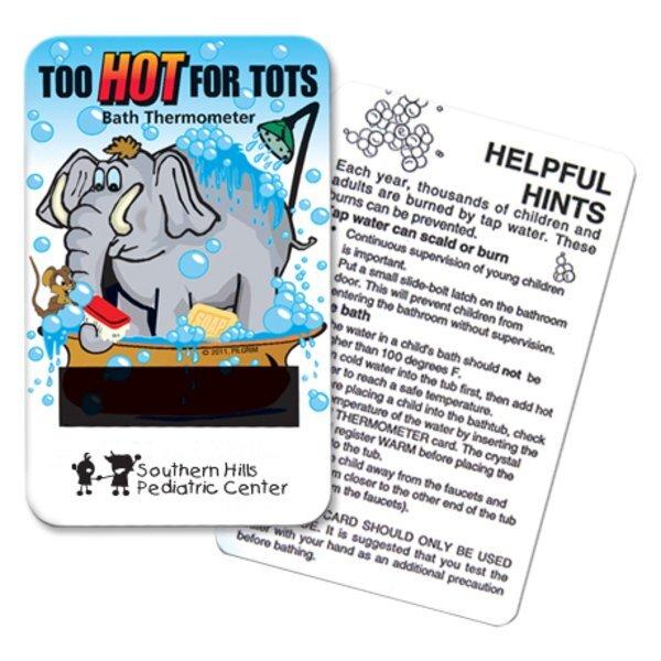 Elephant Card Bath Thermometer