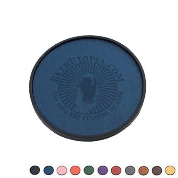 Regency Leatherette Coaster