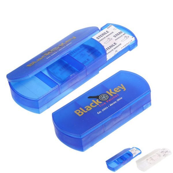 Health Case Bandage Holder Pillbox