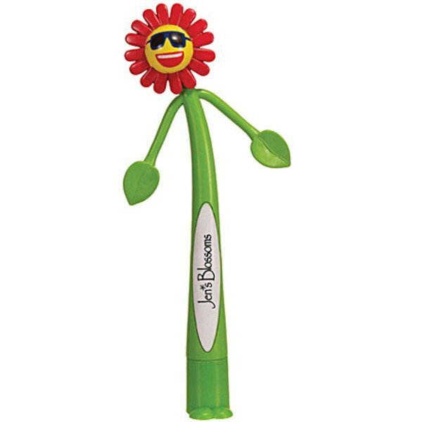 Flower Bendy Pen