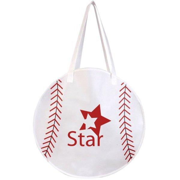 RallyTote™ Non-Woven Baseball Tote Bag