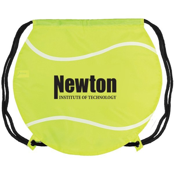 Gametime!® Tennis Drawstring Polyester Backpack