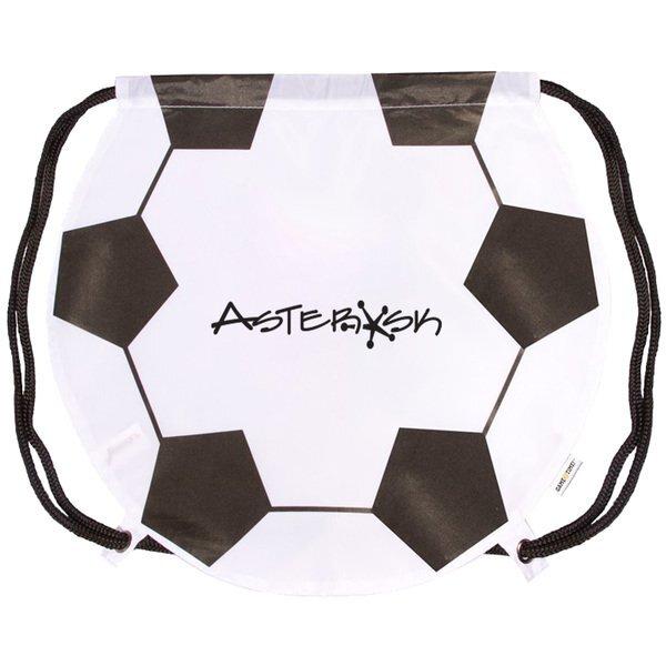 Gametime!® Soccer Drawstring Polyester Backpack