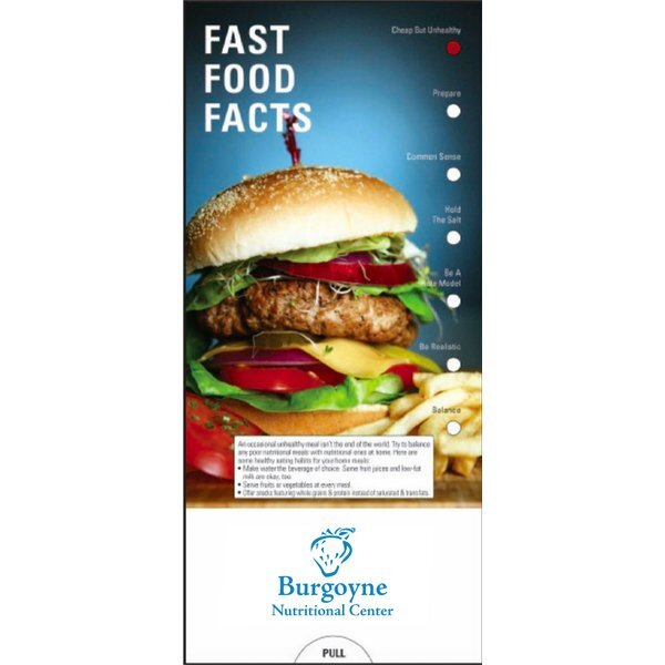 Fast Food Facts Pocket Guide