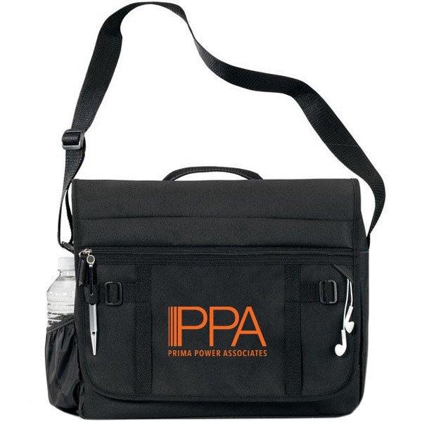 Global Traditional Polycanvas Messenger Bag