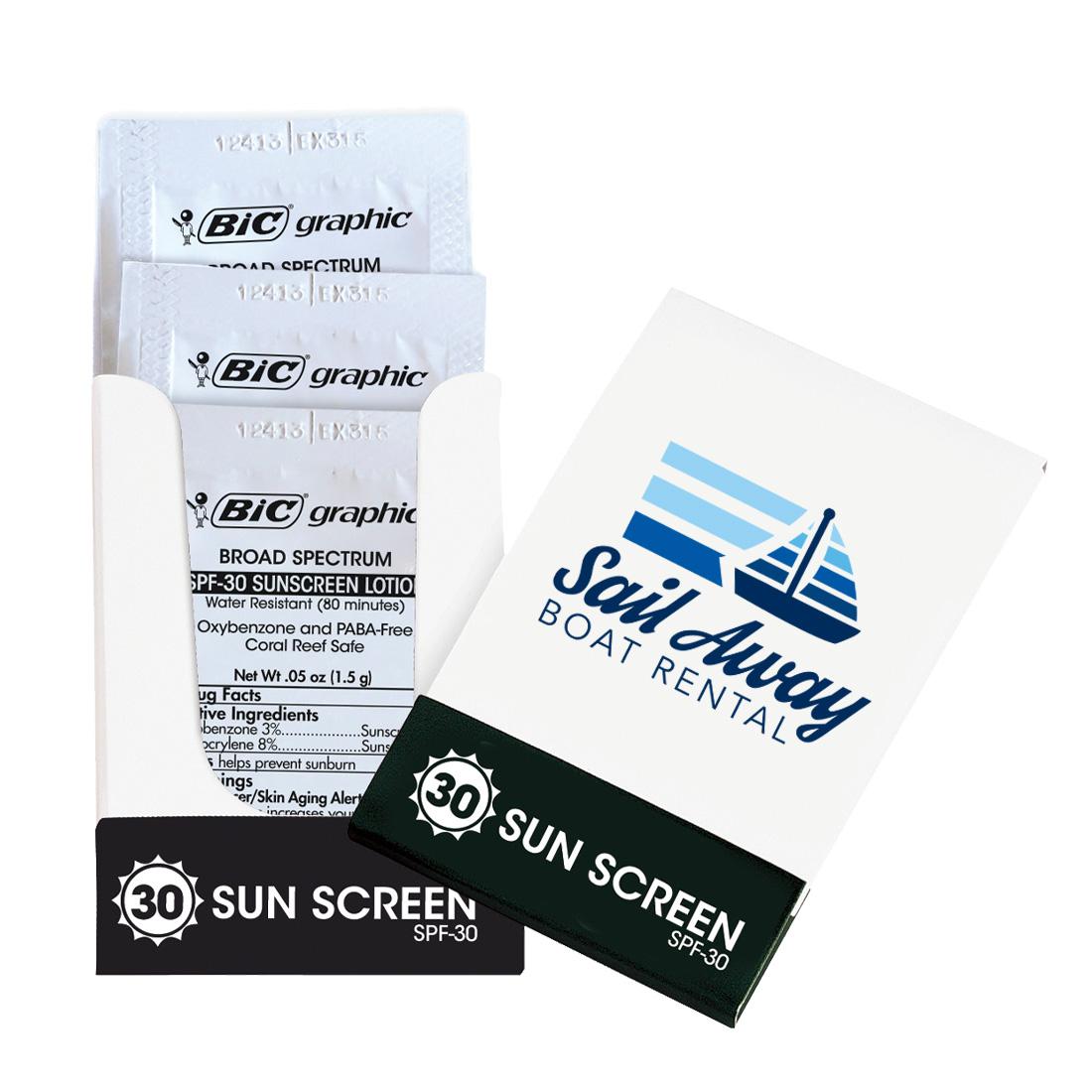 Sunscreen Pocket Pack, SPF-30