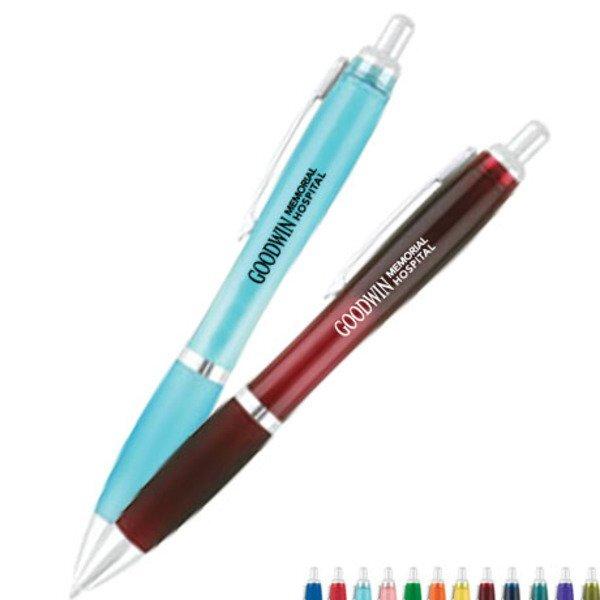 Translucent Curvaceous Gel Pen