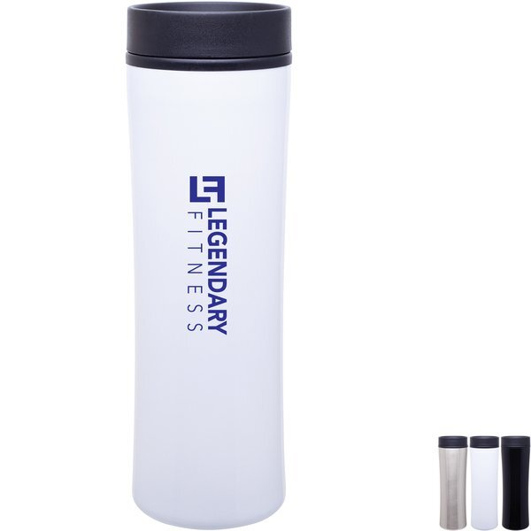 Cyrus Stainless Steel Tumbler, 16oz.