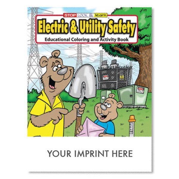 Electric and Utility Safety Coloring & Activity Book