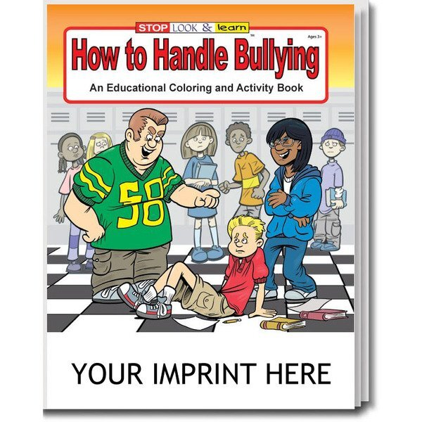 How To Handle Bullying Coloring & Activity Book