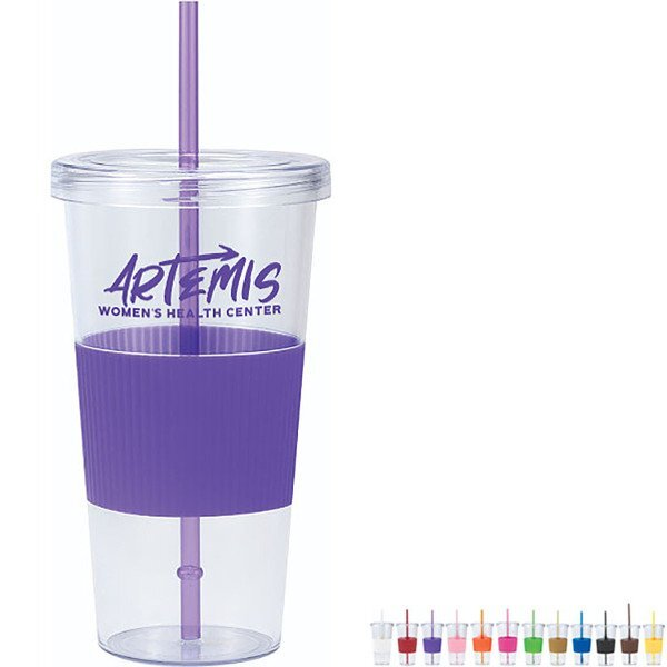 Ribbed Grip Tumbler, 24oz.