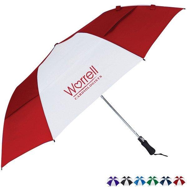 "Vented Folding Golf Umbrella, 58"" Arc"