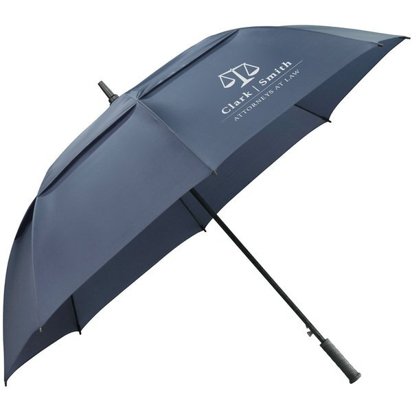 "Slazenger™ Caddy Vented Automatic Golf Umbrella, 64"" Arc"