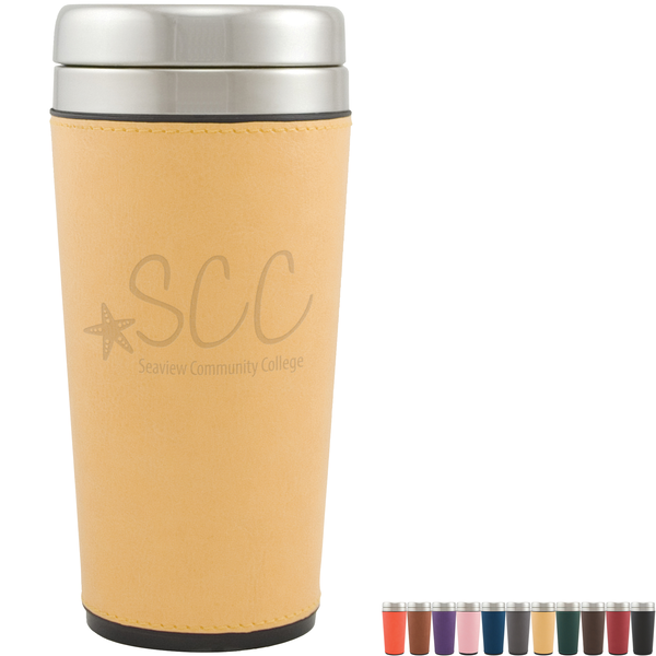 Regency Leatherette Tumbler, 16oz.