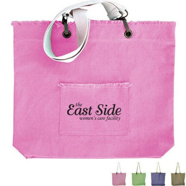 Campus Cotton Canvas Tote Bag
