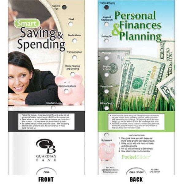 Smart Saving & Spending Pocket Sliders™
