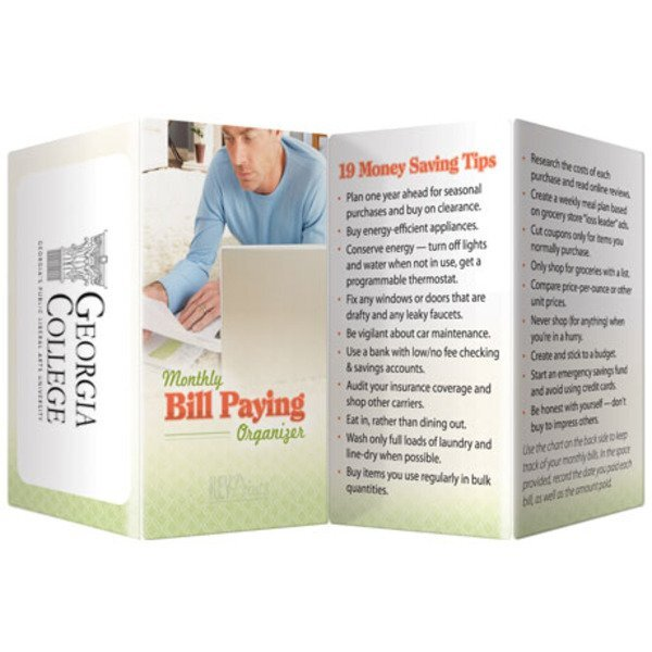 Monthly Bill Paying Organizer Key Points™