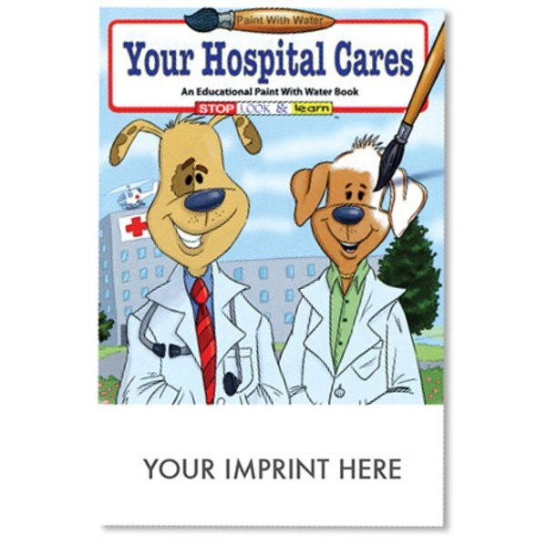 Your Hospital Cares Paint with Water Book