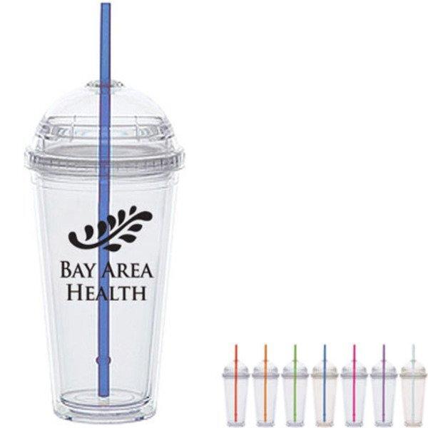 Acrylic Big Top Lid Tumbler, 20oz., BPA Free