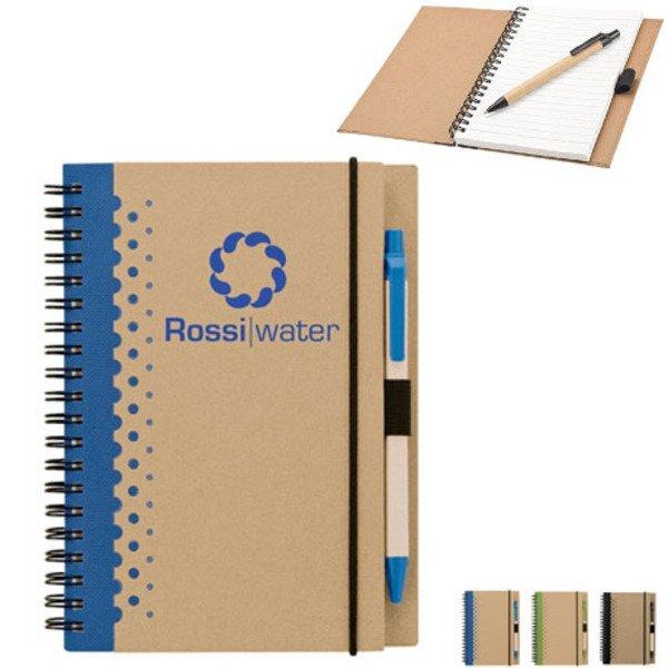 """Dotted Junior Notebook & Pen, 5-1/2"""" x 7-1/4"""""""