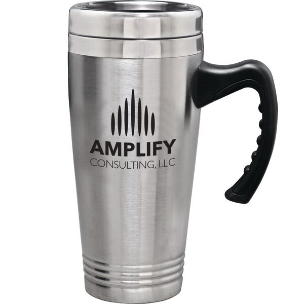 Double Wall Stainless Steel Commuter Tumbler, 18oz.