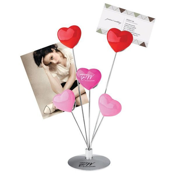 Five-Heart Memo/Photo Holder