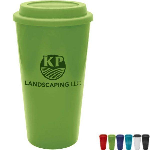 Java Plastic Tumbler, 16oz., BPA Free
