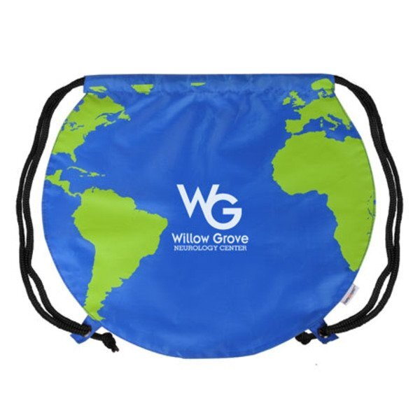Drawstring Backpack - Global
