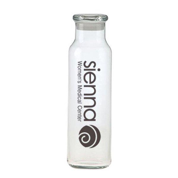Glass Water Bottle, 24oz.