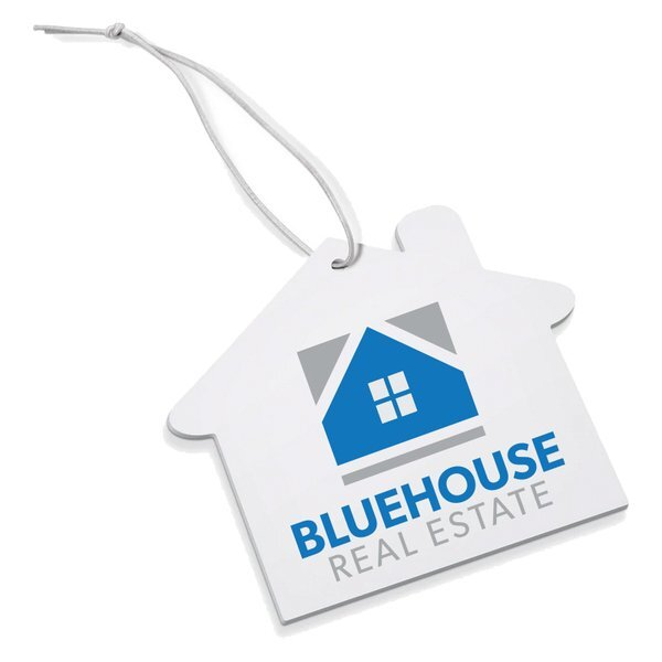 Full Color Air Freshener - House