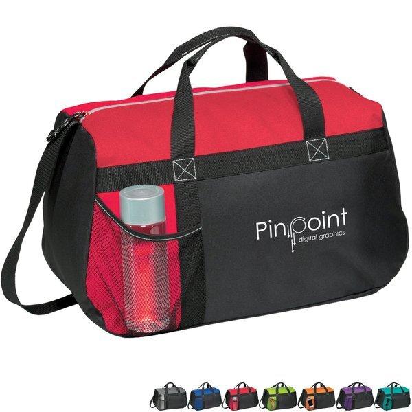 "Spirit Polycanvas Sport Duffel Bag, 18"""