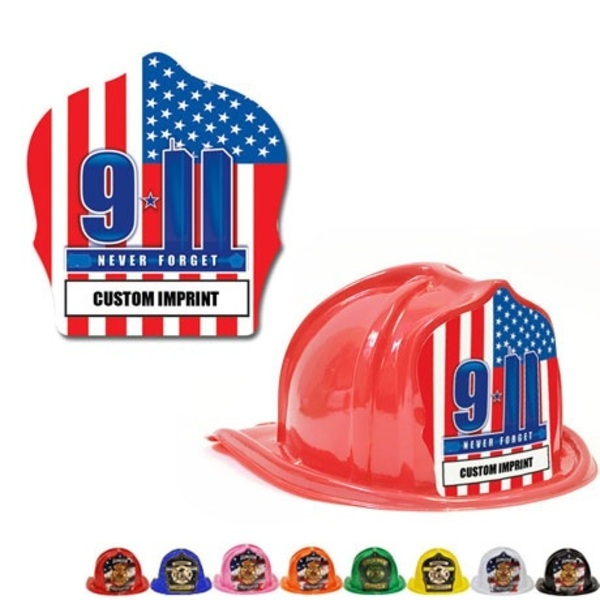 Chief's Choice Kids Firefighter Hat, 9-11 Memorial Design