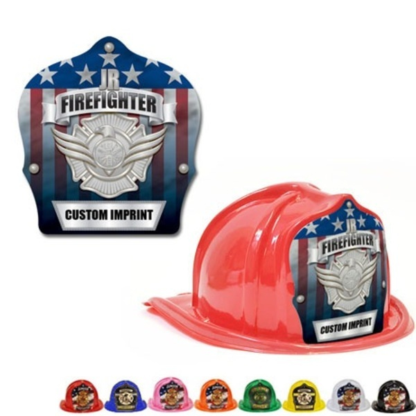 Chief's Choice Kid's Firefighter Hat, Serve & Protect Silver Shield