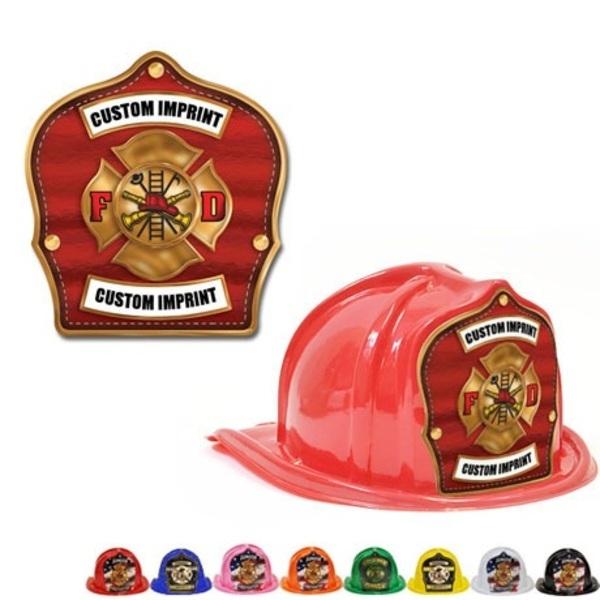 Chief's Choice Kid's Firefighter Hat, Bronze Maltese Design