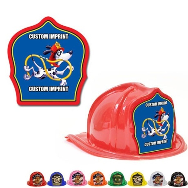 Chief's Choice Kid's Firefighter Hat, Jr. Fire Chief Design