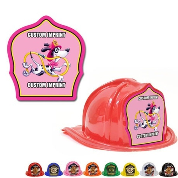 Chief's Choice Kid's Firefighter Hat, Jr. Fire Chief Pink Design