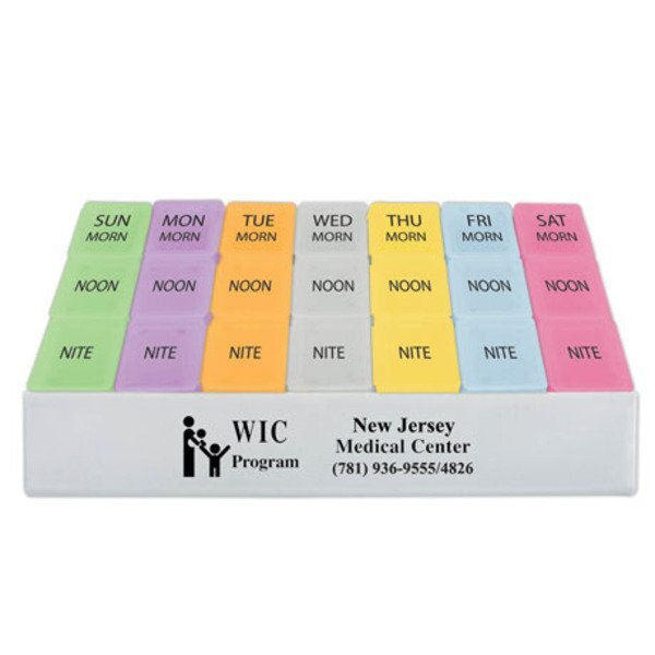 Morning, Noon and Nite Medicine Tray, 8-3/4""