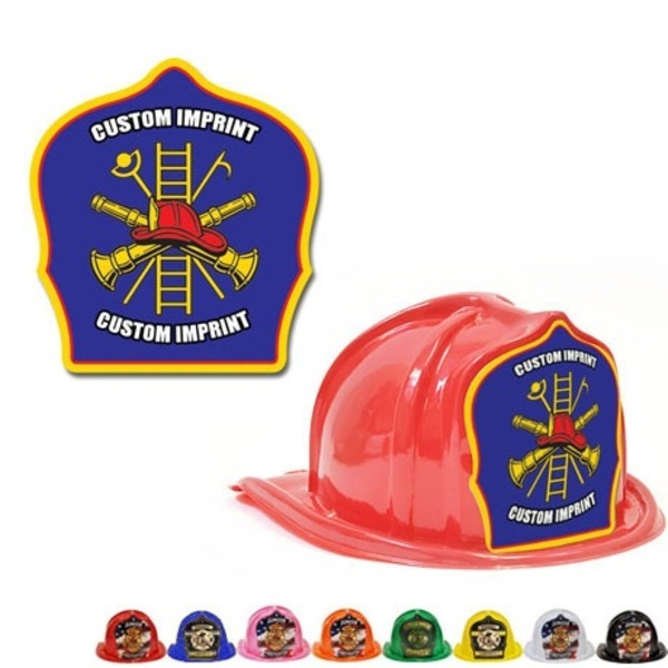 Chief's Choice Kid's Firefighter Hat, Blue Background