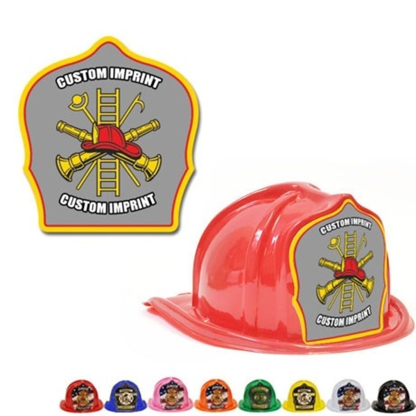 Chief's Choice Kid's Firefighter Hat, Gray Background