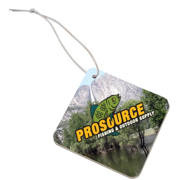Full Color Air Freshener - Diamond
