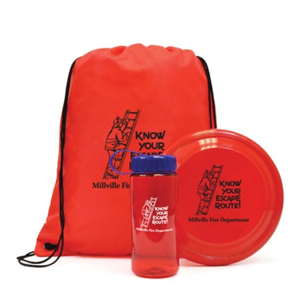 Backpack Fun Kit with Backpack, Flyer & Sports Bottle