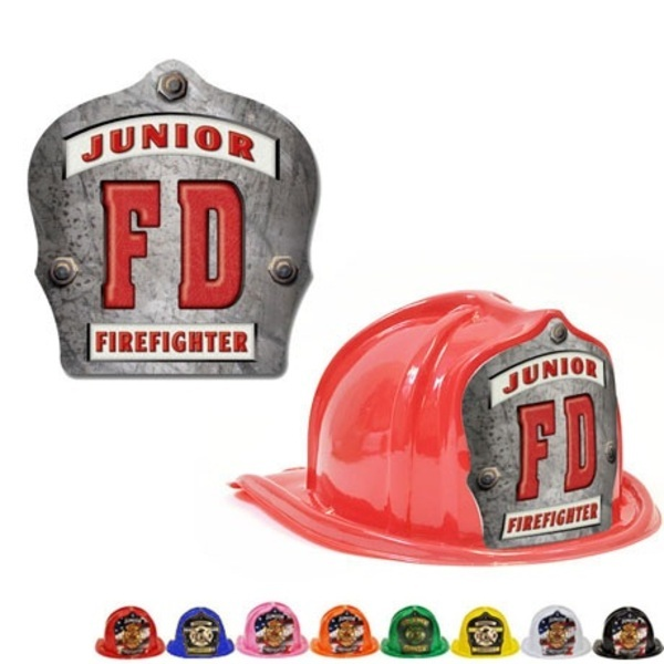 Chief's Choice Kid's Firefighter Hat, FD Design, Stock