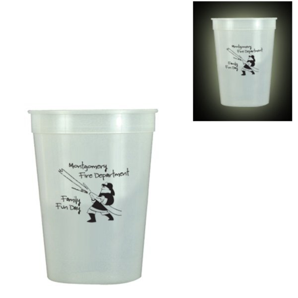 Glow in the Dark Stadium Cup, 12oz.