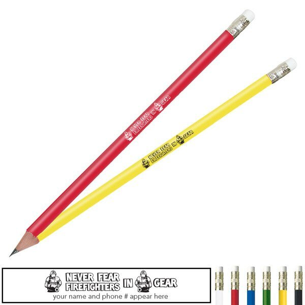 Never Fear Firefighters In Gear Pricebuster Pencil